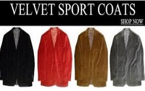 Velvet Sport Coats