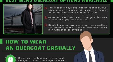 mens overcoat purchase tips mens fashion infographics