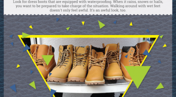 mens fashion infographics buying right wintertime dress boots