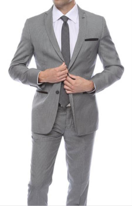 For Tall and Thin Fellows: All About Slim Fit Prom Suits
