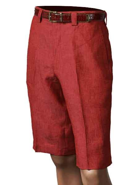 Classically Cool Mens Linen Short Sets Summer