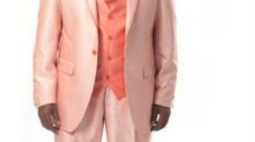 Summer Colors How to Wear a Peach Tuxedo