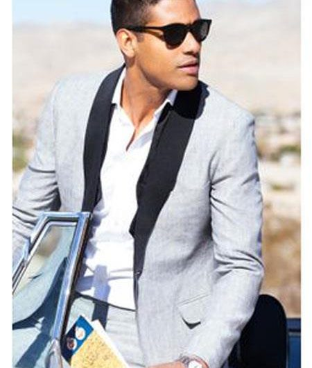 Summer Linen Outfit Suits Jackets Blazers
