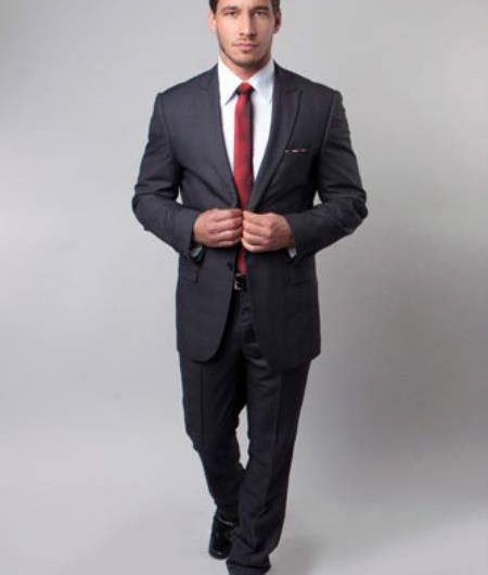 christmas suit advice mens black charcoal two button