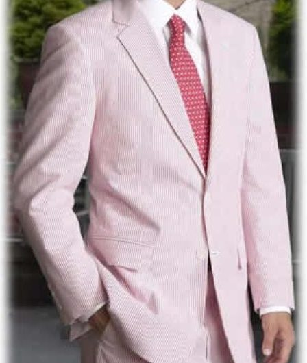 springtime easter suits for men two button pastel pink red