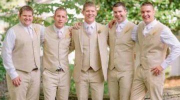 modern white tie groomsmen linen vest 1940s formalwear fashions