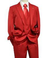 Buying a Cheap Red Suit That Looks Like a Million