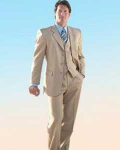 Tan Suits Always Look Better With the Right Color Shirts